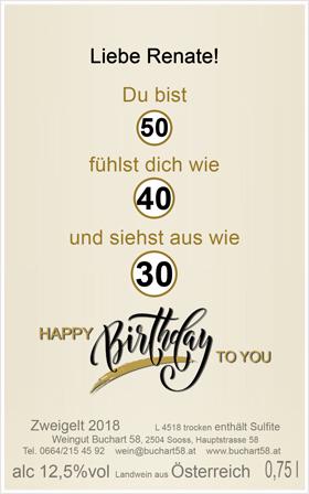 Geburtstagswein